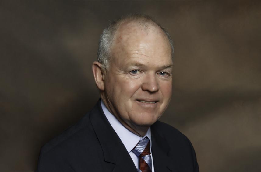 Portrait of John McEleney