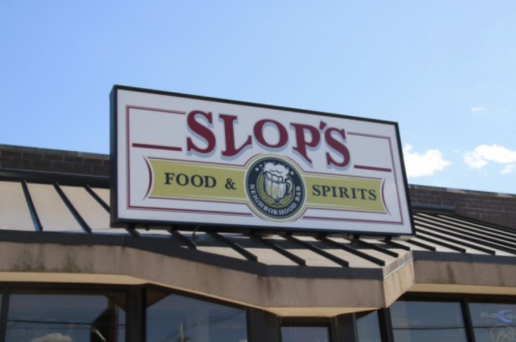 Sign to Slop's Neighborhood Bar Food & Spirits image