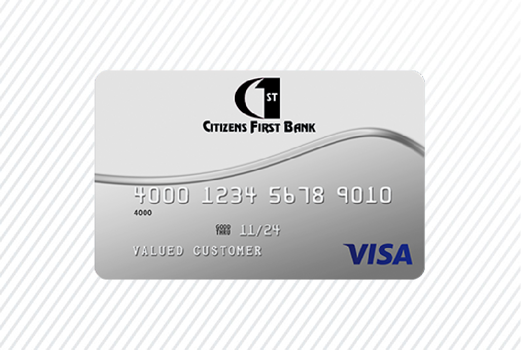 Credit Card art on white background